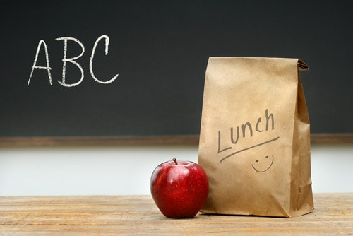 Verzorgde lunch