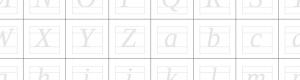 Handschrift als lettertype