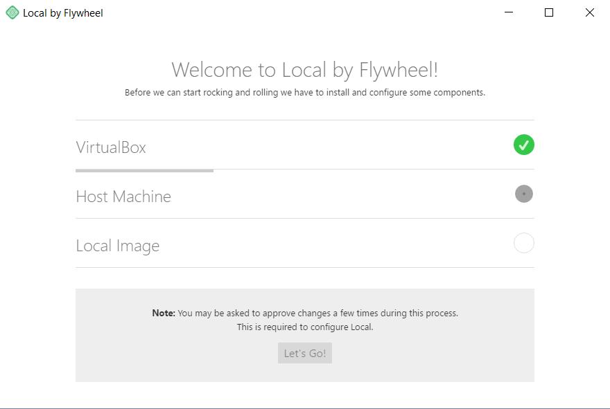 Installatie Local by Flywheel